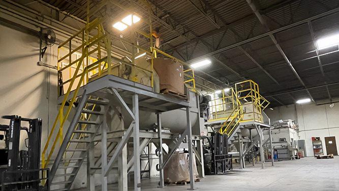Plastic Blending - Sherman Plastics Corp
