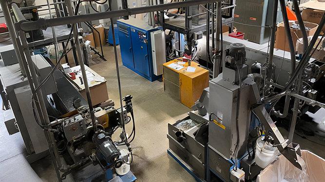 Plastic Pelletizing - Sherman Plastics Corp